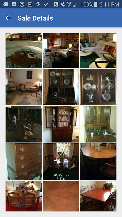 Estate Sales- screenshot