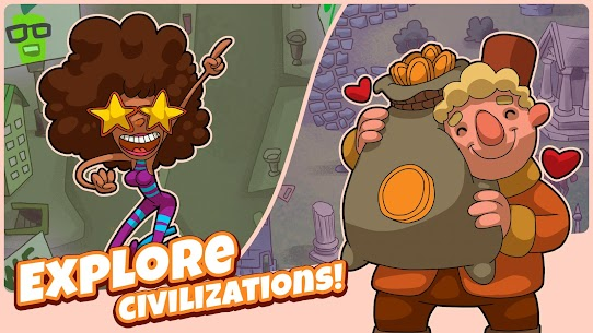 Homo Evolution: Human Origins Mod Apk (Free Shopping) 3