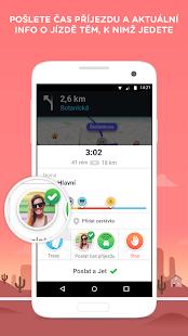 Waze - GPS, Mapy, Dopravní upozornění a Navigace - náhled