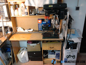 Photo: Mechanics workbench