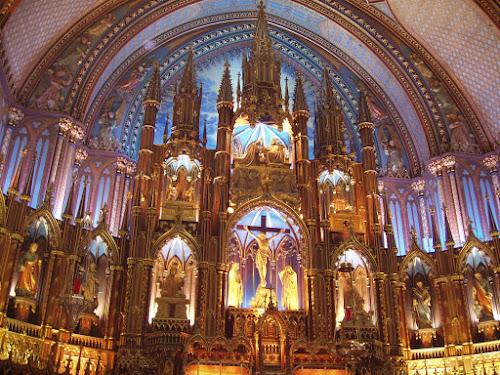 Photo Basilique Notre-Dame de Montréal