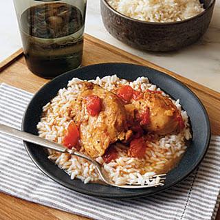 Saucy Chicken over Rice