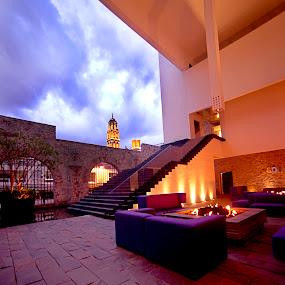Puebla hotel by Cristobal Garciaferro Rubio - Buildings & Architecture Office Buildings & Hotels ( purificadora hotel, church, mexico, puebla, hotel )
