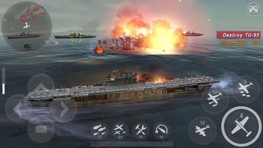 WARSHIP BATTLE:3D World War II apkdebit screenshots 1