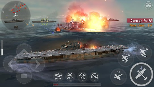 WARSHIP BATTLE:3D World War II MOD (Unlimited Money) 1