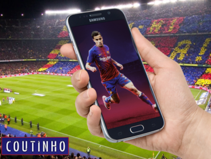 Coutinho Wallpapers FC Barcelona HD 4K - náhled