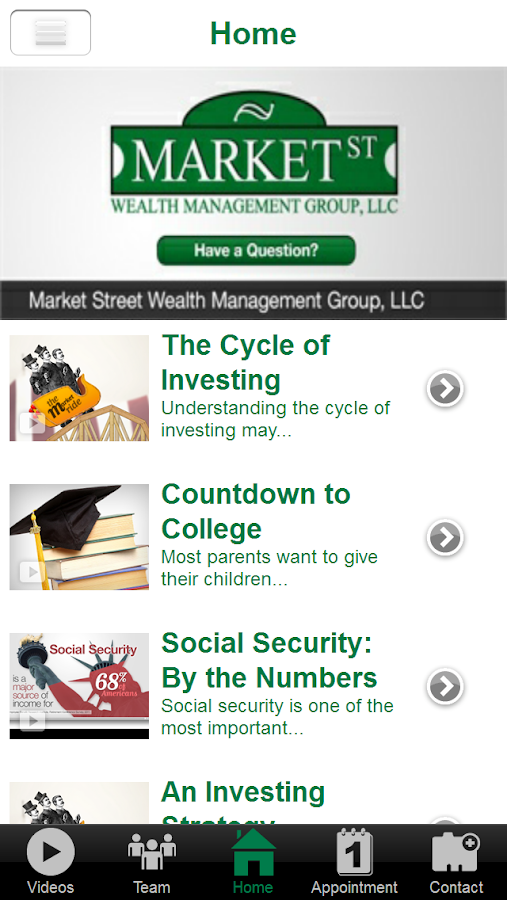 Market St Wealth Management- screenshot