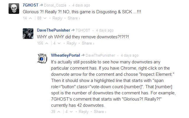 Disqus Downvote Exposer
