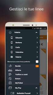 MyWind (App ufficiale Wind)- screenshot thumbnail