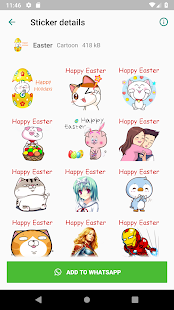 WAStickerApps Cartoon Sticker Collection Screenshot