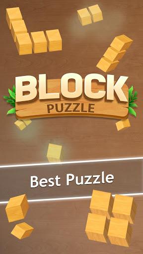 Wooden Block Puzzle - A Classic Tetris Brick Game 2.8.0 screenshots 1