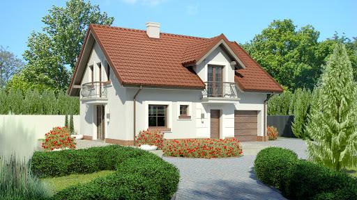 projekt Dom przy Alabastrowej 32