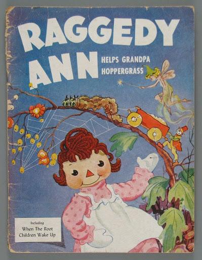 Coloring BookRaggedy Ann Helps Grandpa Hoppergrass