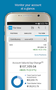 Schwab Mobile - screenshot thumbnail