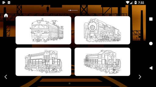 Trains Game Coloring Book 1.7 screenshots 8