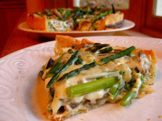 Asparagus And Mushroom Quiche Recipe