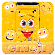 Funny Laugh emoji Face Theme