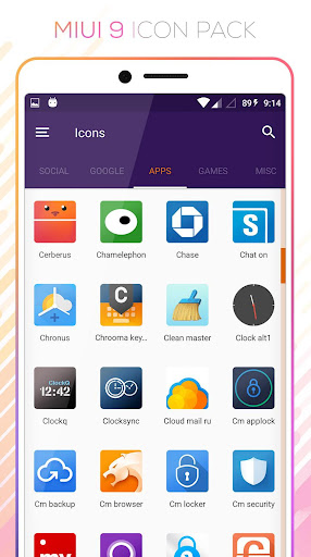 MIUI 9 - Icon Pack FREE - Apps on Google Play