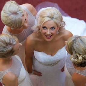 by Ben Kopilow - Wedding Bride & Groom