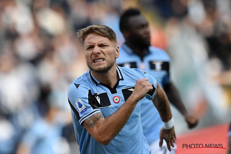 La Lazio s'accroche à la Juventus, Immobile inarrêtable