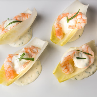 Champagne Shrimp on Endive Recipe