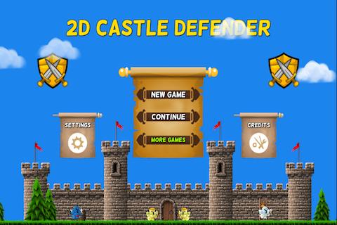 2D城堡后卫