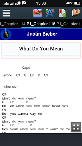 Justin Bieber Guitar Chords Apk | Download Only APK file for Android