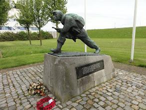 Photo: Herinnering aan de bezetting en de bevrijding.