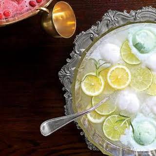 Lemon-Lime-Rosemary Punch.
