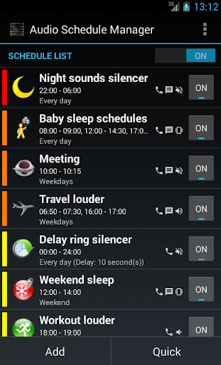 Audio Schedule Manager