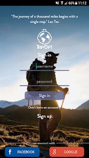 TripOpt - Smart Travel App - náhled