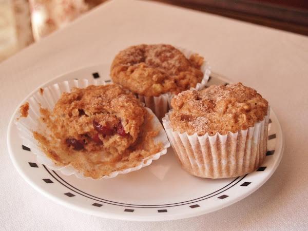 Banana Applesauce Cranberry Gluten Free Muffins Recipe