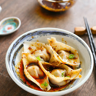 How to Make Sichuan Style Wontons in Spicy Chili Oil 紅油抄手 Recipe