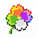 Color By Number - Unicorns Pixel Art icon