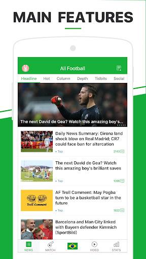 All Football - Soccer,Live Score,Videos 1.8.6u screenshots 1