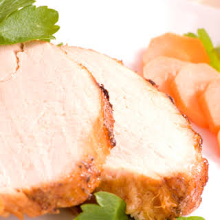 Roast Pork with Marmalade Glaze.
