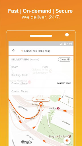 Lalamove: Fast & Reliable Delivery App 4.811.46456 screenshots 1