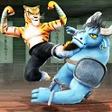 Kung Fu Animal Fighting Games: Wild Karate Fighter icon