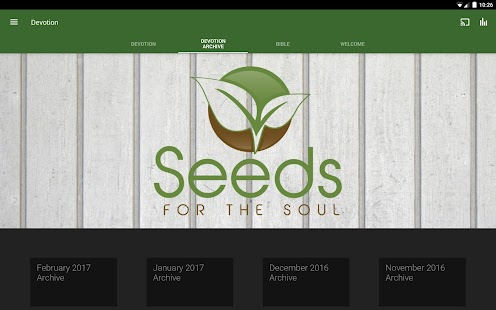 Seeds for the Soul Devotion- screenshot thumbnail