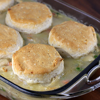 Chicken and Biscuit Casserole