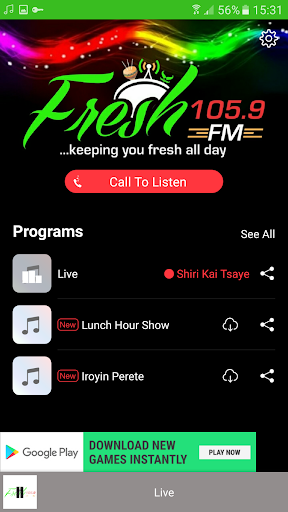 Fresh FM Nigeria 4.3.4 screenshots 2