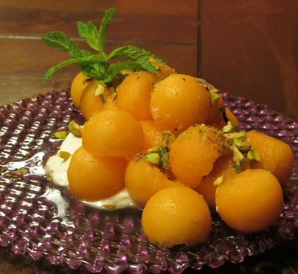 Wonderful Cantaloupe Dessert...
