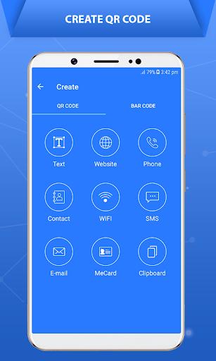 QR Code Scanner - Barcode Scanner 1.1 screenshots 2