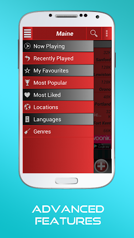android A2Z Maine FM Radio Screenshot 3