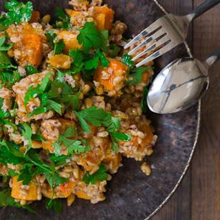 Butternut Squash and Farro Salad