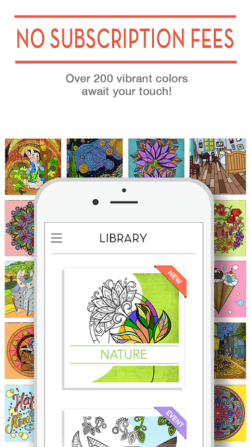 Coloring Book ColorCure - Android Apps on Google Play