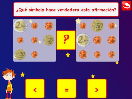 Juego Aprende las monedas EURO Gratis