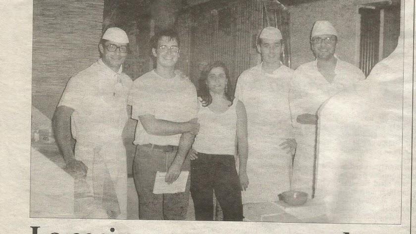La Trattoria, en La Voz cuando se inauguró, hace ahora 20 años.