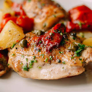 Mediterranean Chicken Thighs.
