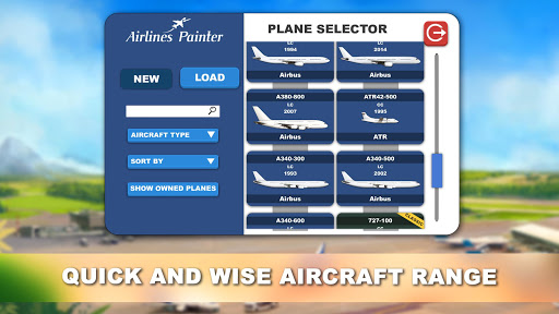 Airlines Painter  Wallpaper 3